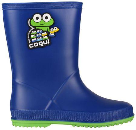 Coqui otroški škornji Rainy (8505), modri, 24