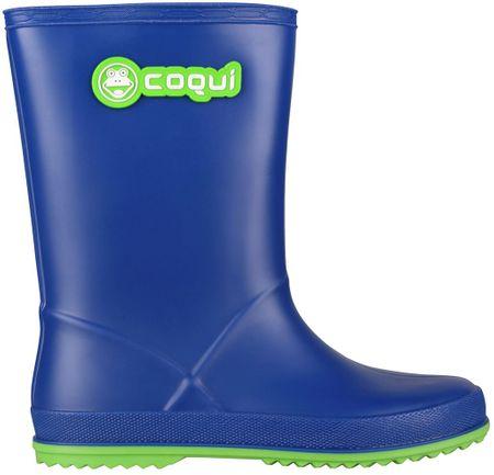 Coqui otroški škornji Rainy (8506), modri, 35