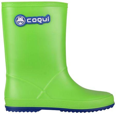 Coqui otroški škornji Rainy (8506), zeleni, 30