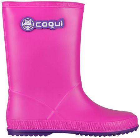Coqui otroški škornji Rainy (8506), roza, 32