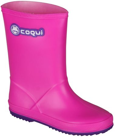 Coqui otroški škornji Rainy (8506), roza, 30