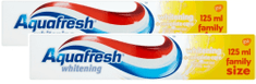 Aquafresh Whitening zubná pasta 2x 125 ml