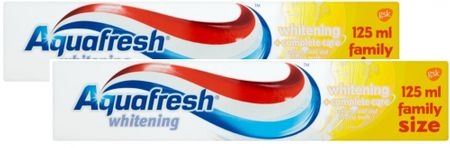 Aquafresh Whitening zubní pasta 2x 125 ml