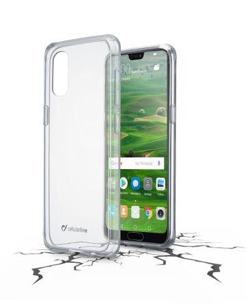 CellularLine ovitek Clearduo za telefon Huawei P20 Pro, prozoren