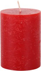 Toro Svíčka rustikální červená 7,5 x 10 cm