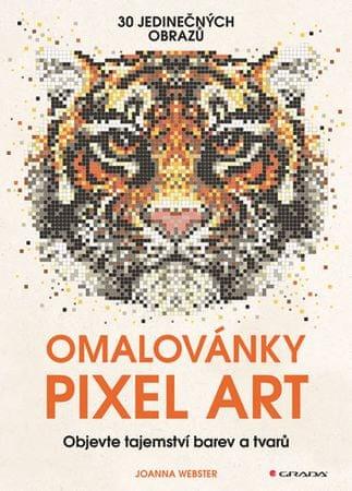 Webster Joanna: Omalovánky Pixel Art - Tajemství barev a tvarů