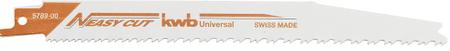 KWB set univerzalnih rezil Easy-Cut 2/1, 205/180 mm, BIM (578900)
