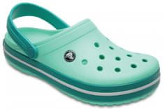 Crocs natikači Crocband New Teal, svetlo modri