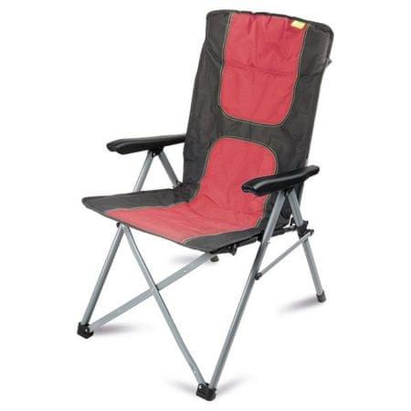 Kampa stol za kampiranje Consul Reclining Chair, rdeč