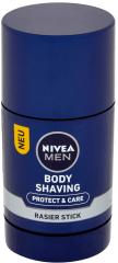 Nivea Men Protect&Care Mýdlo na holení těla 75 ml