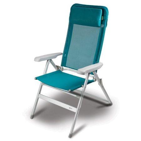 Kampa stol za kampiranje Luxury Tealicious