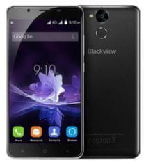 iGET GSM telefon Blackview P2, črn + Darilo: Etui