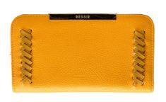 Bessie London dámská žlutá peněženka