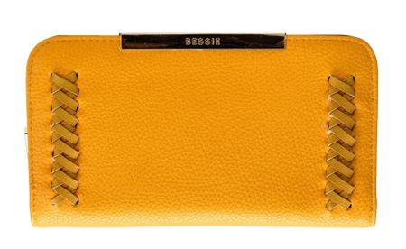 Bessie London ženski novčanik žuta