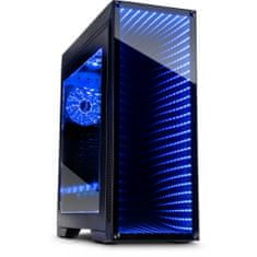 Inter-tech gaming kućište M-908 Infinity-Mirror Midi ATX, RGB