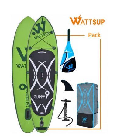 WattSup napihljiv SUP Guppy 9, 275 x 78 x 12 cm