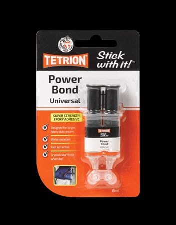Tetrion univerzalno epoksi lepilo 6 mL
