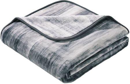 Biederlack odeja Simply Luxury Painted Illusions Grey 150 x 200 cm