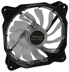 LC Power ventilator AiRazor LC-CF-120-TUBE-R, 120 mm, LED, bel