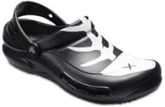Crocs Bistro Graphic papucs Black/White/Black