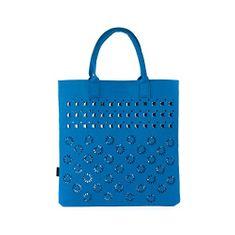Art of Polo Dámská filcová taška Shopping Bag - royal blue tr15113.4
