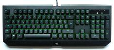Razer tipkovnica BlackWidow Ultimate Green Switch, vodoodporna, UK SLO g.