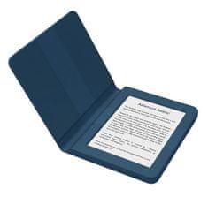 Bookeen e-bralnik Saga + silikonski ovitek, moder