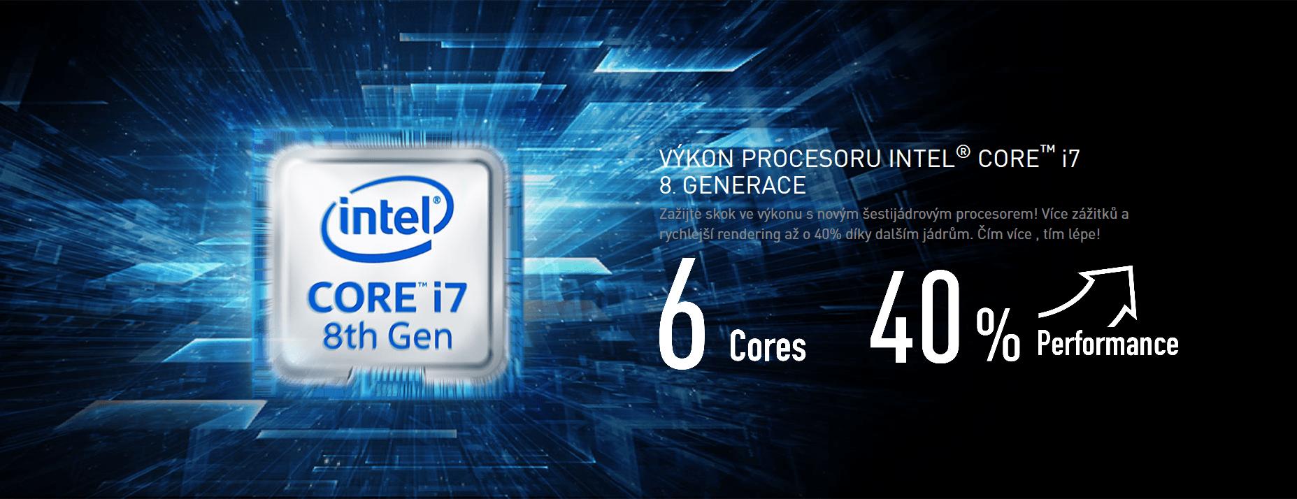 Poslední verze NVIDIA grafik GeForce® GTX 1060 spolu s MSI notebooky vás ohromí svým výkonem a možnostmi