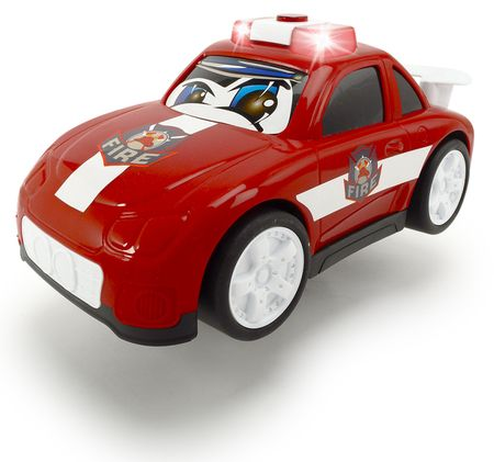 DICKIE Happy Rescue 2 autó, piros