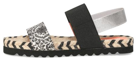 Desigual dámské sandály Formentera Save Th 38 černá