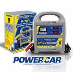 PowerCar polnilec akumulatorja, 8 A, 6/12 V