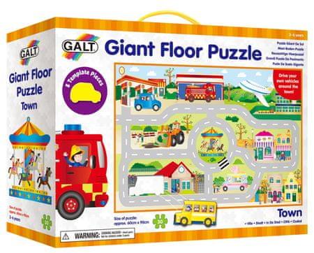 GALT Veľké podlahové puzzle - mesto