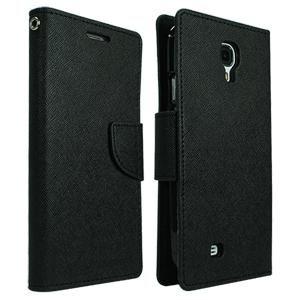 Goospery preklopna torbica Fancy Diary za Samsung Galaxy A7 A700, črna