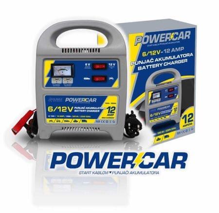PowerCar punjač akumulatora 12A, 6/12V