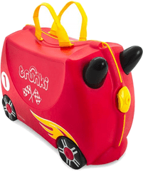 Trunki Kufřík + odrážedlo závodní auto Rocco