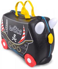 Trunki Kalóz lábbal hajtható és ülőkeként is használható gyermek bőrönd