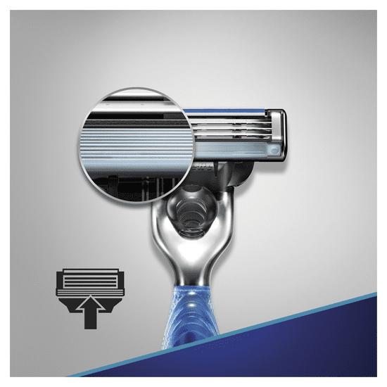 Gillette britvica Mach3 Start + 3 rezervne glave za britje