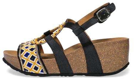 Desigual ženski sandali Bio9 Anissa Beads 37 črna