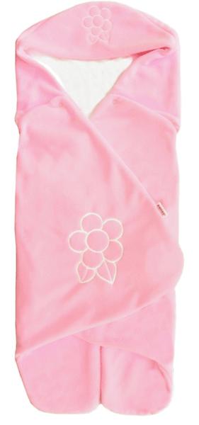 Emitex Zavinovačka s kapucí, růžová