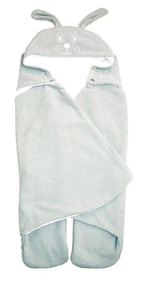 Emitex Zavinovačka s kapucí, šedá