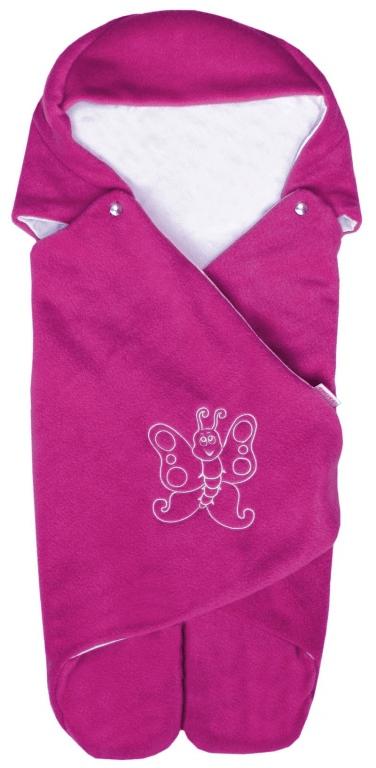 Emitex Zavinovačka s kapucí, fuchsie