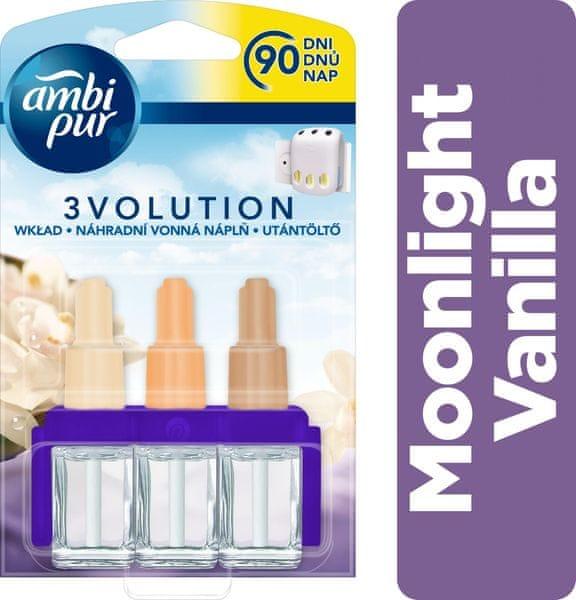 Ambi Pur 3Volution Moonlight Vanilla Náplň do osvěžovače 20 ml