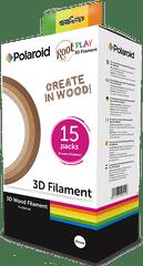 POLAROID Náplň Polaroid pro 3D pero ROOT PLAY dřevené - 3 odstíny