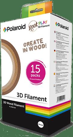 POLAROID filament za 3D pisalo, les (15x5)