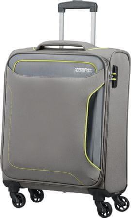 American Tourister Holiday Heat Spinner 55 bőrönd, Metal Grey