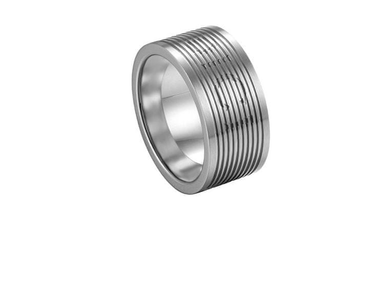 Pánský prsten z oceli DCRG5006010 (Obvod 60 mm)