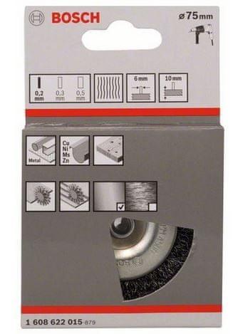 Bosch kolutna ščetka (1608622015)
