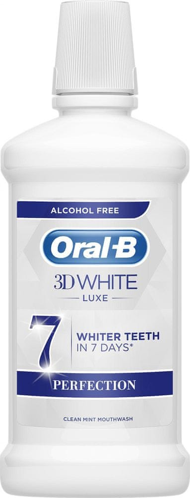 Oral-B White Luxe Perfection Ústní voda 500 ml