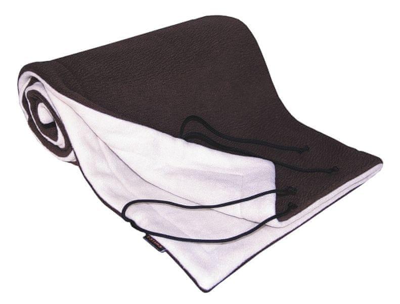 Emitex Deka 70x100 fleece, hnědá/béžová