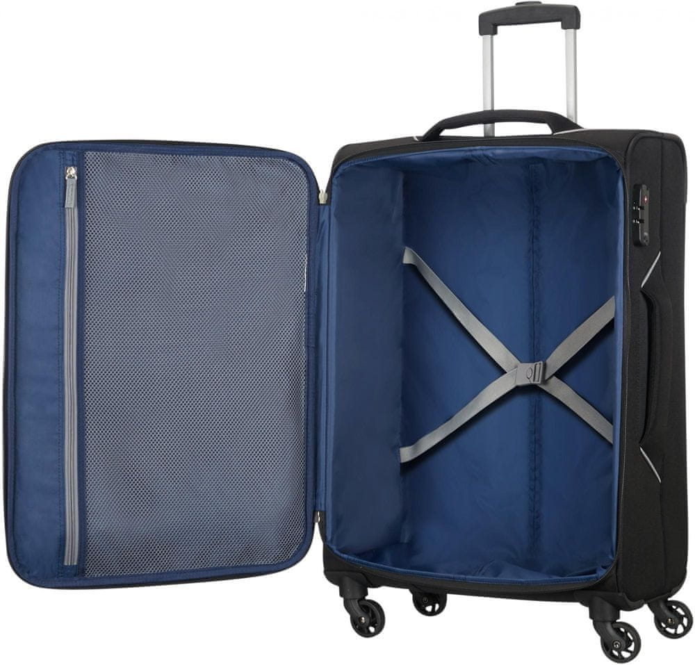 American Tourister Holiday Heat Spinner 79, Black - použité